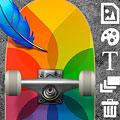 Pro Skate Design אפליקציה לעיצוב הסקייטבורד והלונגבורד
