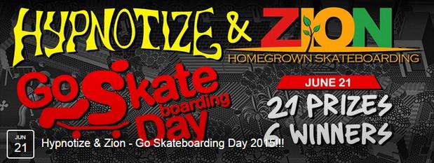 יום הסקייטבורד Go SkateBoard Day2015