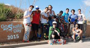 יום הסקייטבורד בספוט אפולוניה שבהרצליה Go SkateBoard Day2015