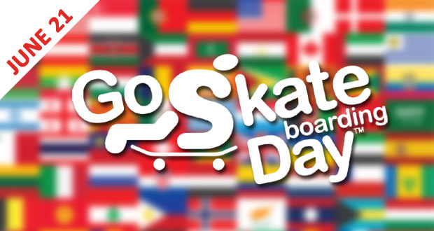 יום הסקייטבורד Go Skateboarding Day