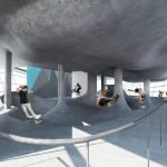 סקייטפארק בן 5 קומות