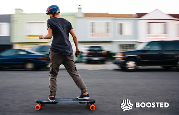 BoostedBoards סקייטבורד לונגבורד חשמלי