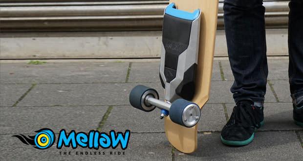 Mellow הופך כל סקייטבורד לחשמלי