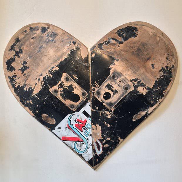 לב של סקייטבורד, מתנה לאוהבים