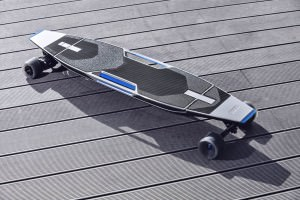 סקייטבורד חשמלי של חברת הרכב אאודי