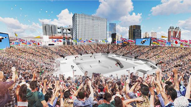 סקייטבורד באולימפיאדה בטוקיו 2020