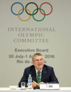 תומס באך, נשיא הוועד האולימפי