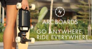 סקייטבורד חשמלי eyi - Arc Boards